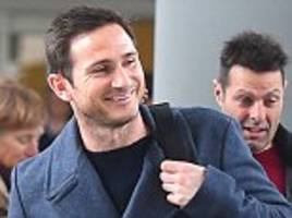 frank lampard touches down at jfk airport on trip to watch new york city fc