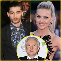 'X Factor UK' Judge Louis Walsh Thinks Zayn Malik's Decision Was Influenced by Fiance Perrie Edwards
