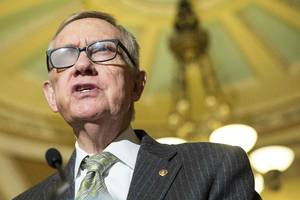Senate Minority Leader Harry Reid won't seek re-election